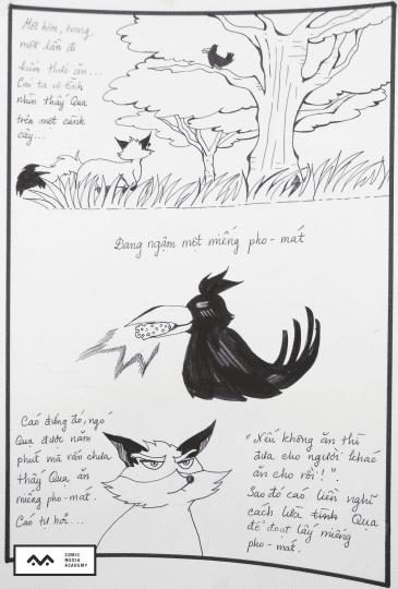 Bài thi Basic Sketch – Hương Thơ