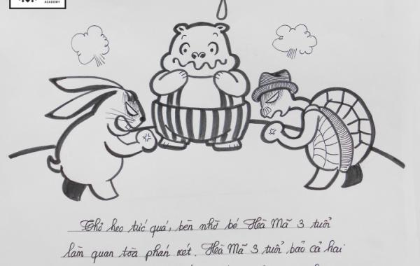 Bài thi Basic Sketch – Hồng Hạnh