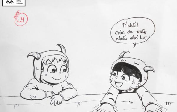 Bài thi Basic Sketch – Hương Ly