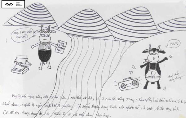 Bài thi Basic Sketch – Hoàng Lê
