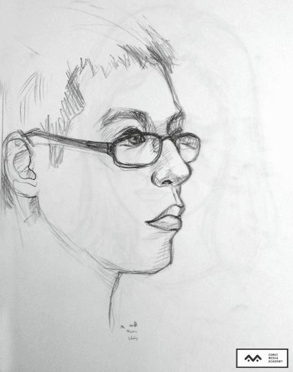 Buổi học vẽ chân dung