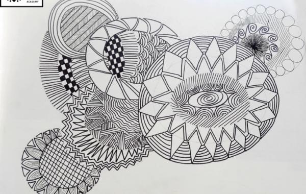 Buổi học vẽ đường nét cơ bản