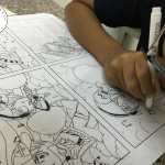 lớp vẽ truyện tranh dành cho bé
