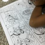 lớp vẽ truyện tranh dành cho thiếu nhi