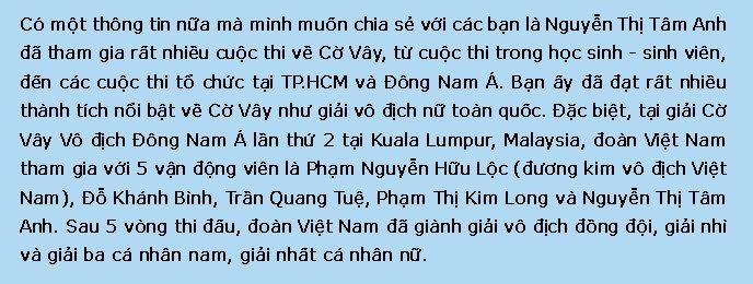 Nguyễn Thị Tâm Anh