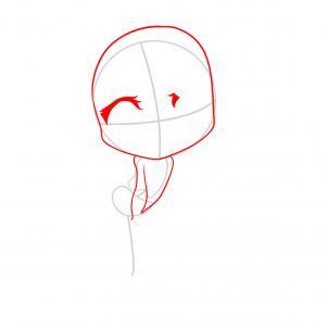 6 - bước - vẽ -công - chúa  - tóc mây - chibi - cực - đáng - yêu (4)