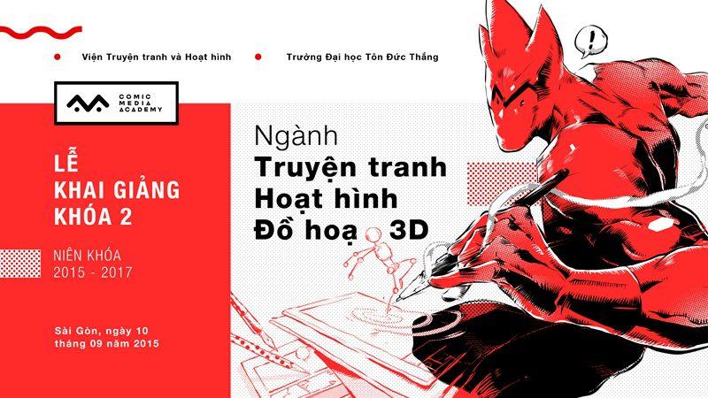 Comic Media Academy Khai Giảng Khóa 2