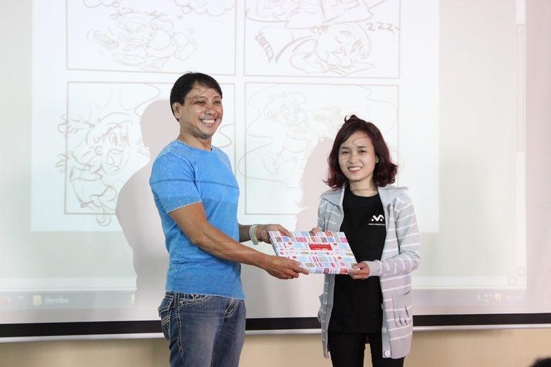 Lạc An - học viên xuất sắc 2015