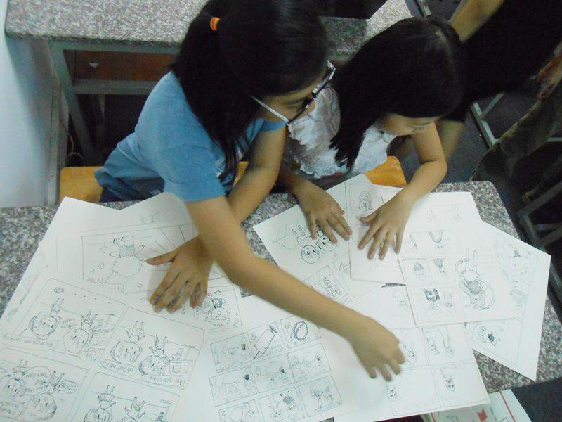 đột nhập lớp học vẽ manga