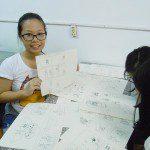 học viên lớp manga