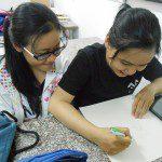 trợ giảng lớp học vẽ manga