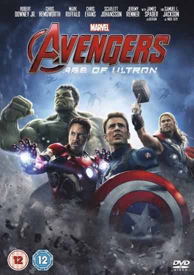 Avengers cover DVD