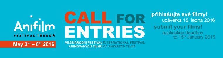 Festival Hoạt hình quốc tế AniFilm 2016 banner