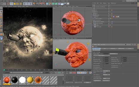 20 phần mềm chuyên dụng dành cho các họa sĩ và nhà thiết kế chuyên nghiệp Cinema 4D Prime