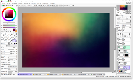 Top 20 phần mềm chuyên dụng dành cho các họa sĩ và nhà thiết kế chuyên nghiệp Paint Tool SAI