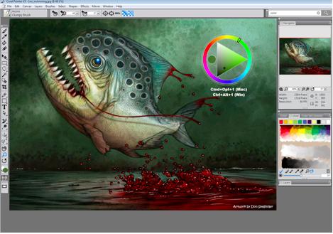 Top 20 phần mềm chuyên dụng dành cho các họa sĩ và nhà thiết kế chuyên nghiệp Painter X3