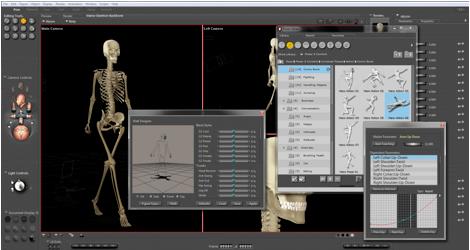 Top 20 phần mềm chuyên dụng dành cho các họa sĩ và nhà thiết kế chuyên nghiệp Poser Pro