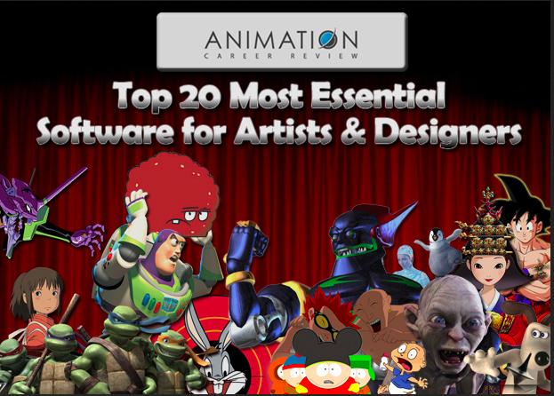 Top 20 phần mềm chuyên dụng dành cho các họa sĩ và nhà thiết kế chuyên nghiệp phần 1