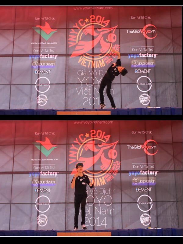 Học viên CMA Trần Minh Hiếu kiêm Quán quân Yo-yo Việt phần thi của bạn Minh Hiếu
