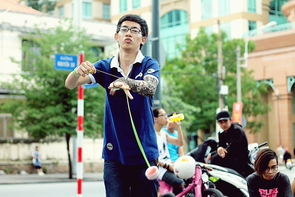 Học viên CMA Trần Minh Hiếu kiêm Quán quân Yo-yo Việt chân dung