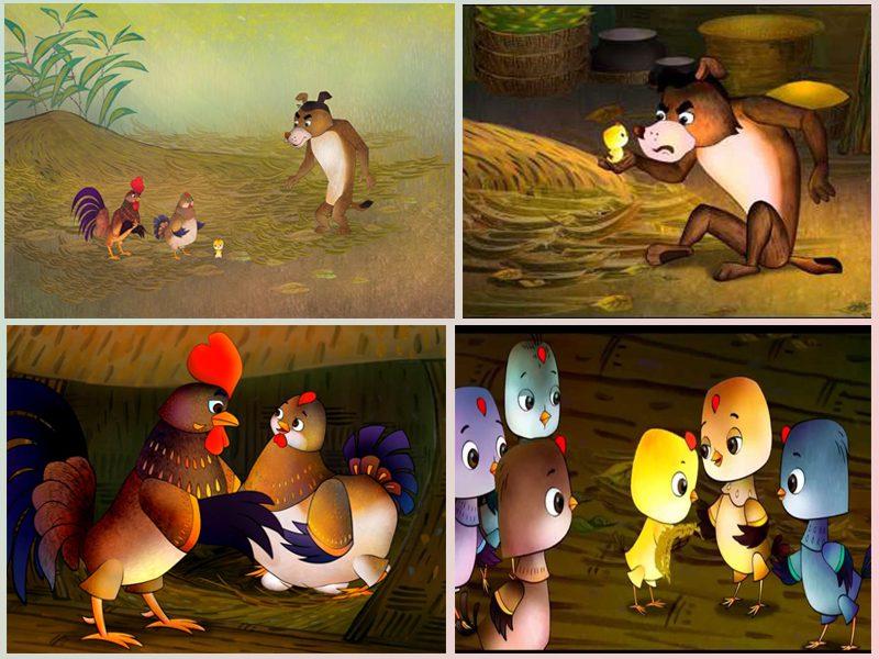 LHP Việt Nam lần thứ 19 - các phim hoạt hình ấn tượng - Bố của gà con