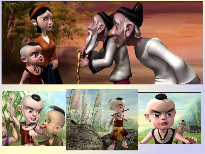 LHP Việt Nam lần thứ 19 - các phim hoạt hình ấn tượng - Cậu bé Cờ lau