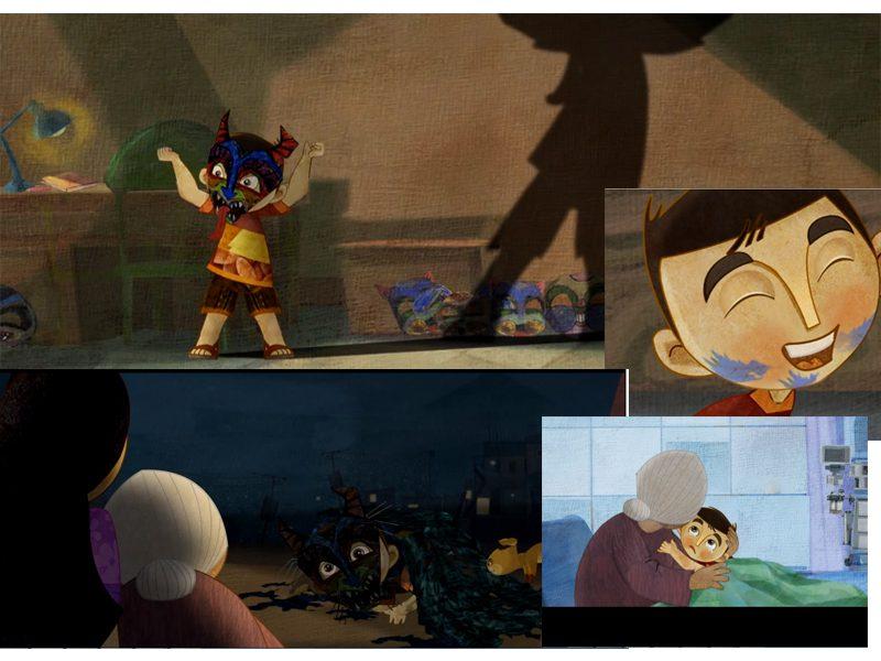 LHP Việt Nam lần thứ 19 - các phim hoạt hình ấn tượng - Chiếc mặt nạ