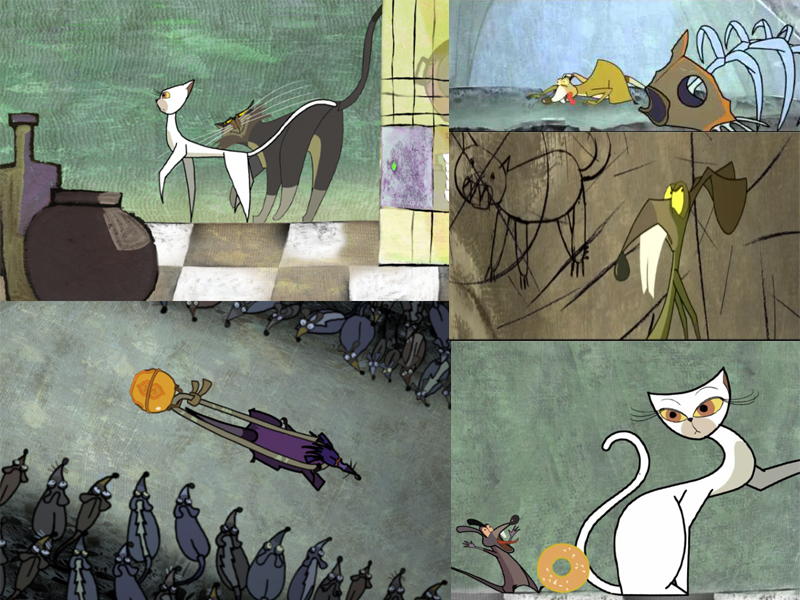 LHP Việt Nam lần thứ 19 - các phim hoạt hình ấn tượng - Đeo lục lạc cho mèo