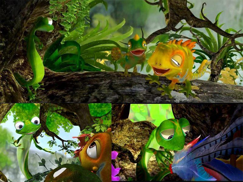 LHP Việt Nam lần thứ 19 - các phim hoạt hình ấn tượng - Đuôi của thằn lằn