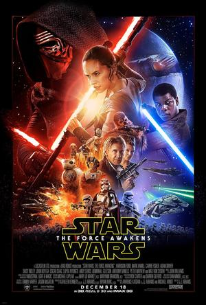 Review phim Star Wars - The Force Awakens poster