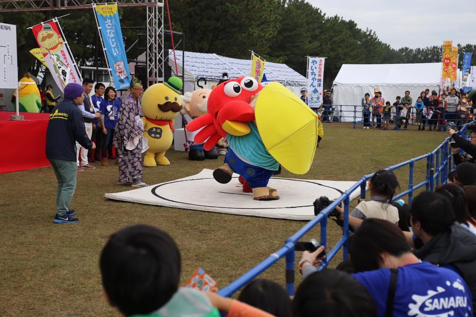 Yuru-kyara là gì - văn hóa Mascot Nhật Bản Hình ảnh lễ hội 2