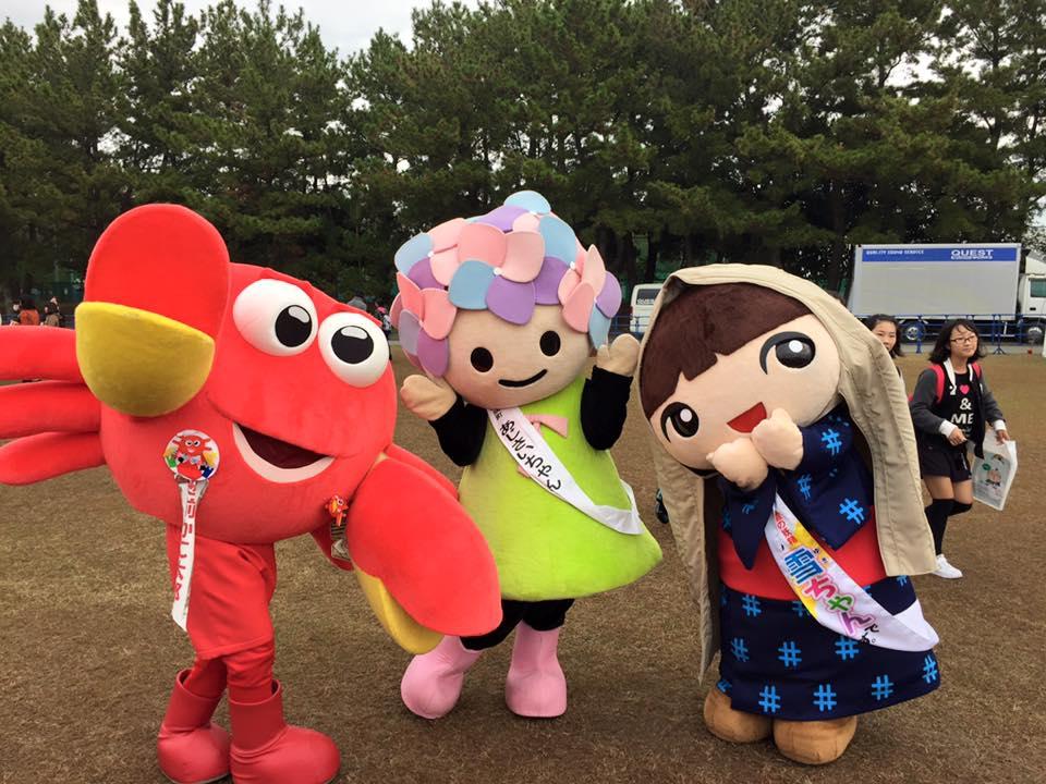 Yuru-kyara là gì - văn hóa Mascot Nhật Bản Hình ảnh lễ hội 3