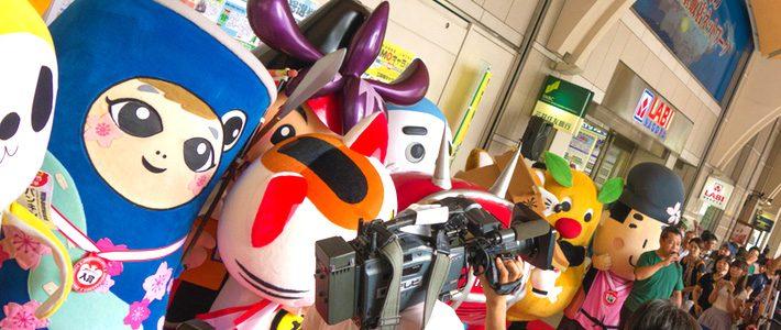 Yuru-kyara là gì - văn hóa Mascot Nhật Bản Hình ảnh lễ hội 6