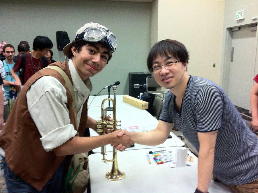 Đạo diễn Makoto Shinkai và người hâm mộ