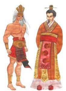 Đồ án Human Sketch Lê Thị Hồng Hạnh - Hùng Vương - Triệu Đà
