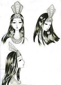 Đồ án Human Sketch Lê Thị Hồng Hạnh - Mị Châu 2