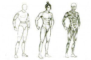 Đồ án Human Sketch Lê Thị Hồng Hạnh - Trọng Thủy 1