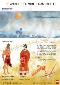 Đồ án Human Sketch Lê Thị Hồng Hạnh - bìa 2