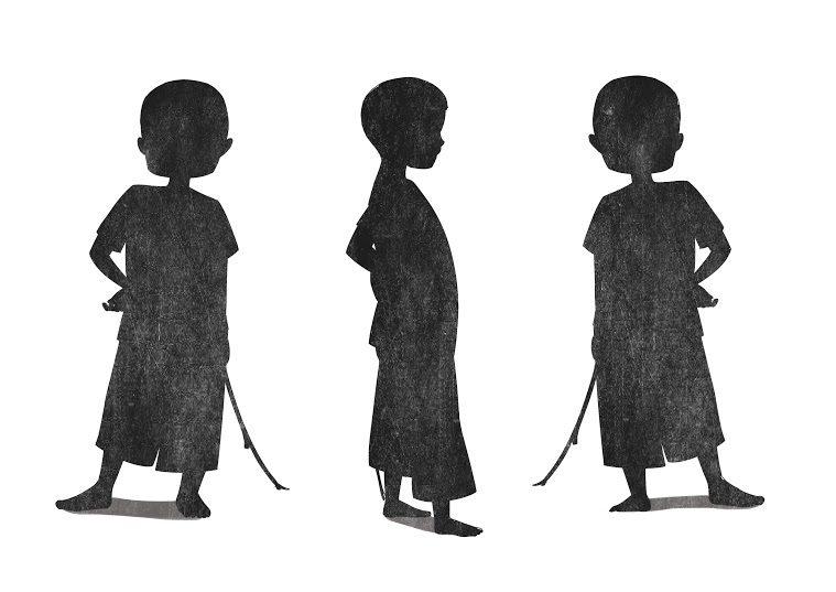 Do-an-Human-Sketch-Luong-Thi-Ngoc-Duyen-nhan-vat-chinh-silhouette