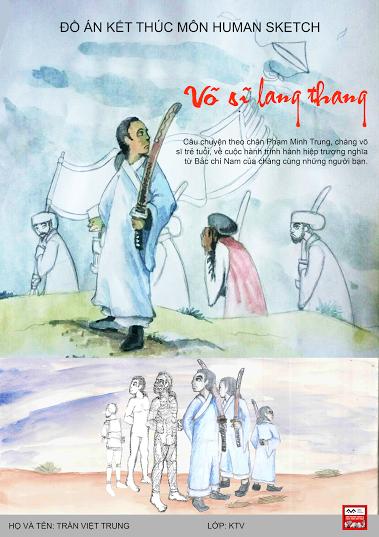 Đồ án kết thúc môn Human Sketch – Trần Việt Trung