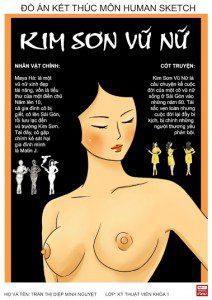 Đồ án Human Sketch - Diệp Thị Minh Nguyệt - bìa 1