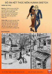 Đồ án Human Sketch - Diệp Thị Minh Nguyệt - bìa 2