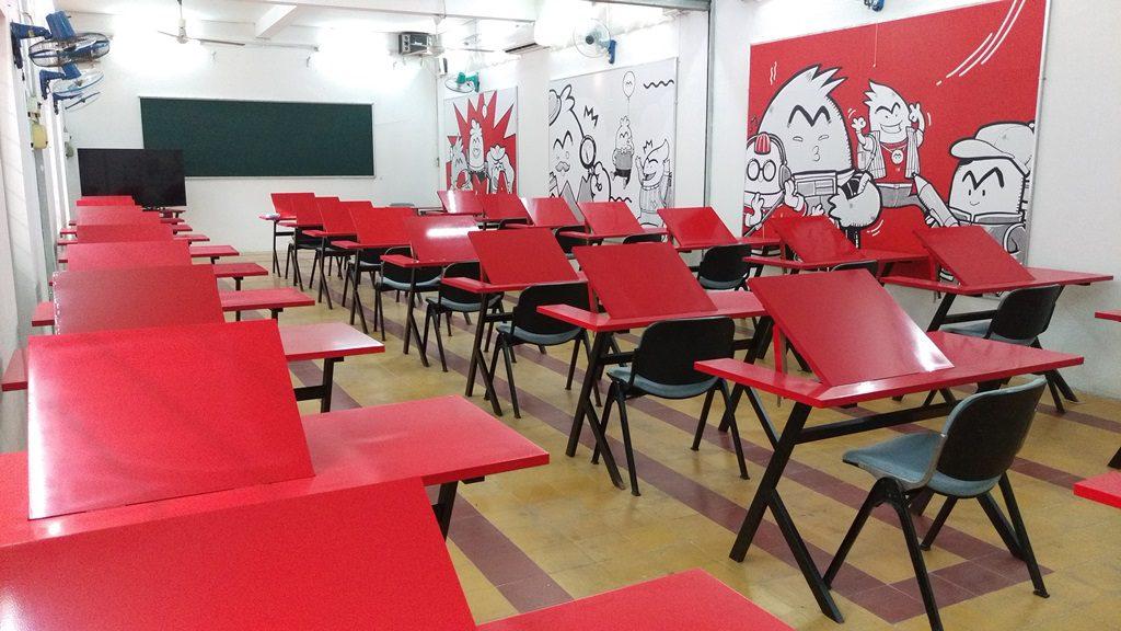 Comic Media Academy - phòng học 01