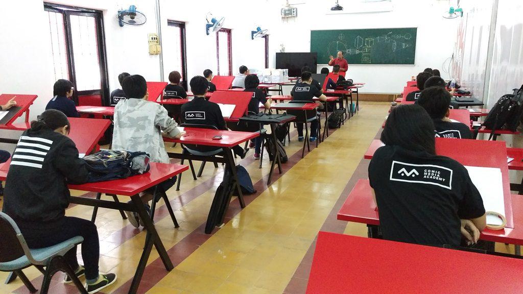 Comic Media Academy - phòng học 03