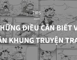 tips phân khung truyện tranh
