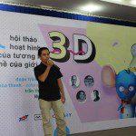 Jet Studio giới thiệu về công ty tại hội thảo 3D