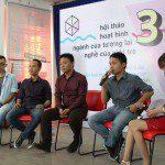 Giao lưu tại hội thảo 3D CMAVN
