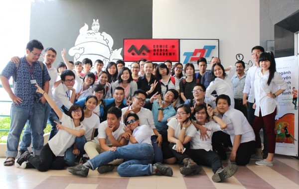 Viện Truyện tranh và Hoạt hình khai giảng khóa 3