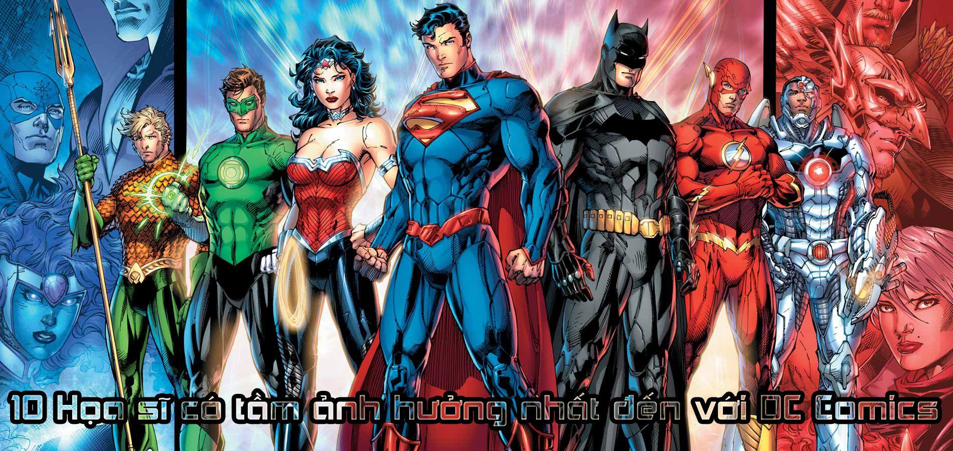 10 họa sĩ DC Comics