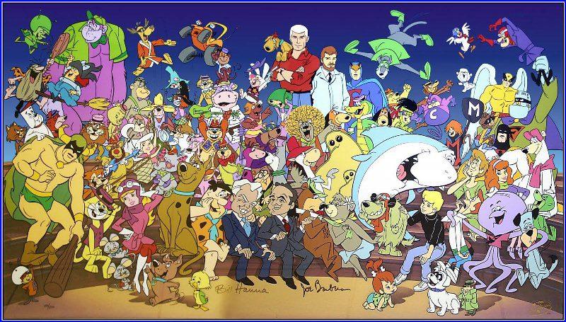 Hanna và Barbera cùng nhau hợp tác làm phim hoạt hình